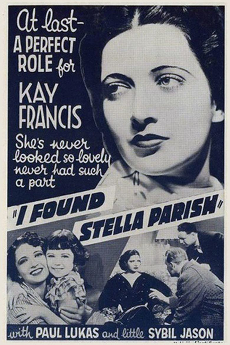 I Found Stella Parish movie poster