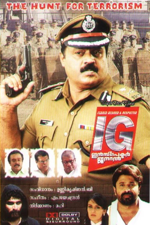 I G Inspector General movie poster