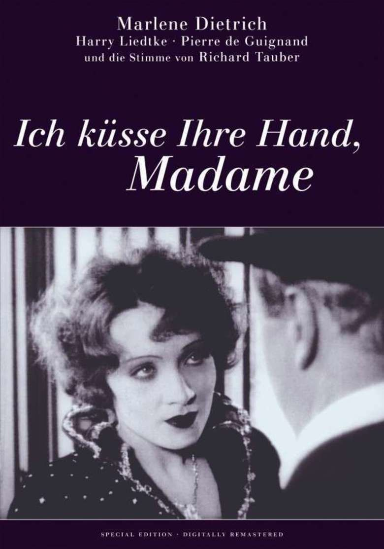 I Kiss Your Hand, Madame movie poster