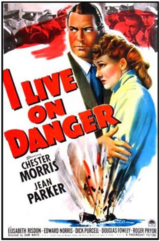 I Live on Danger movie poster
