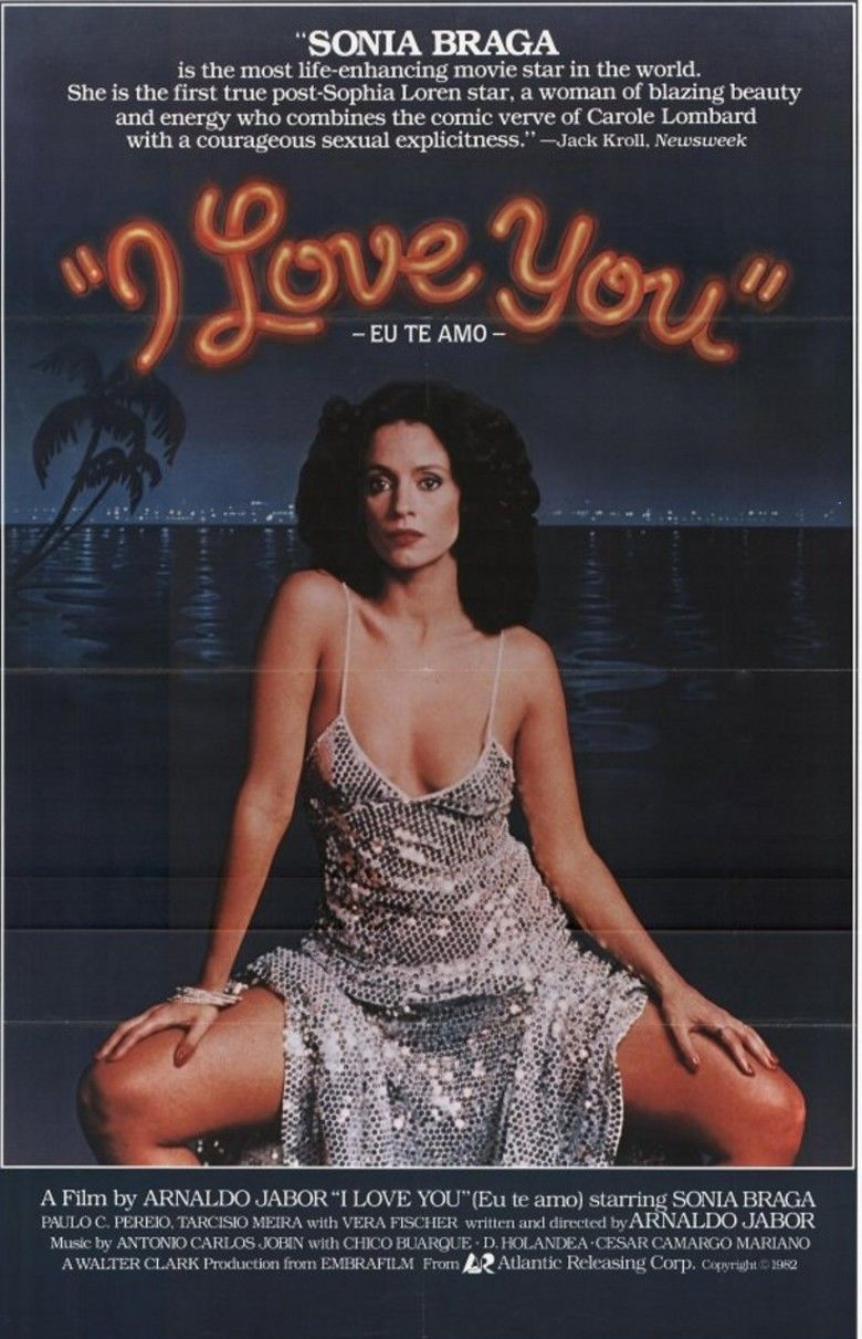 I Love You (1981 film) movie poster