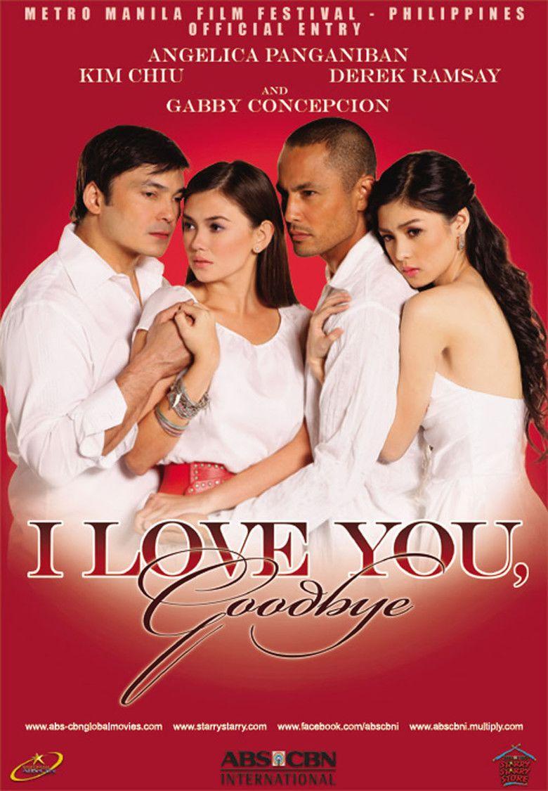 I Love You, Goodbye movie poster