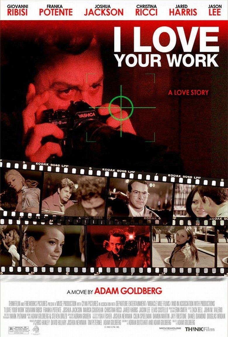 I Love Your Work movie poster