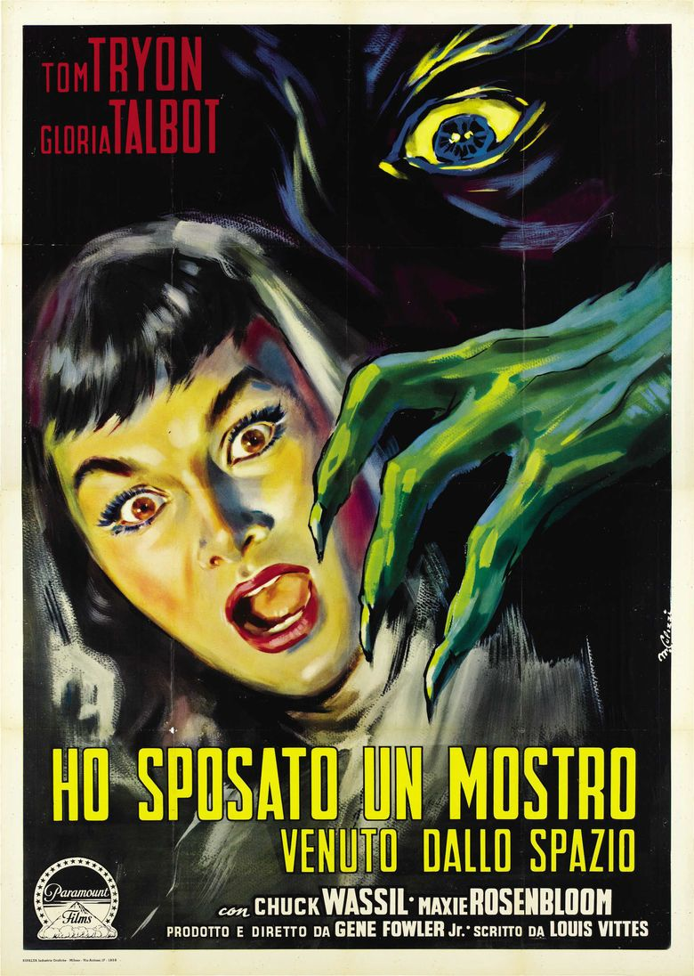 I Married a Monster from Outer Space movie poster