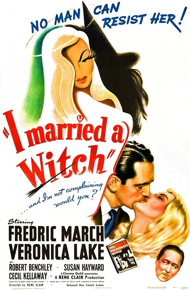 I Married a Witch movie poster