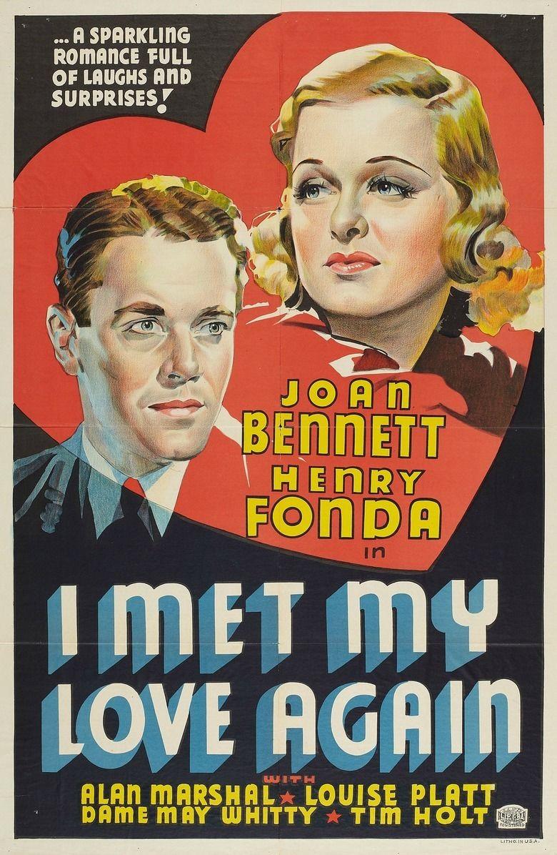 I Met My Love Again movie poster