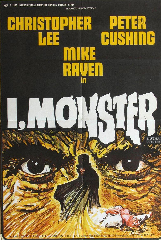 I, Monster movie poster