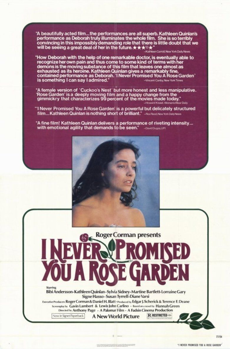 I Never Promised You a Rose Garden (film) movie poster