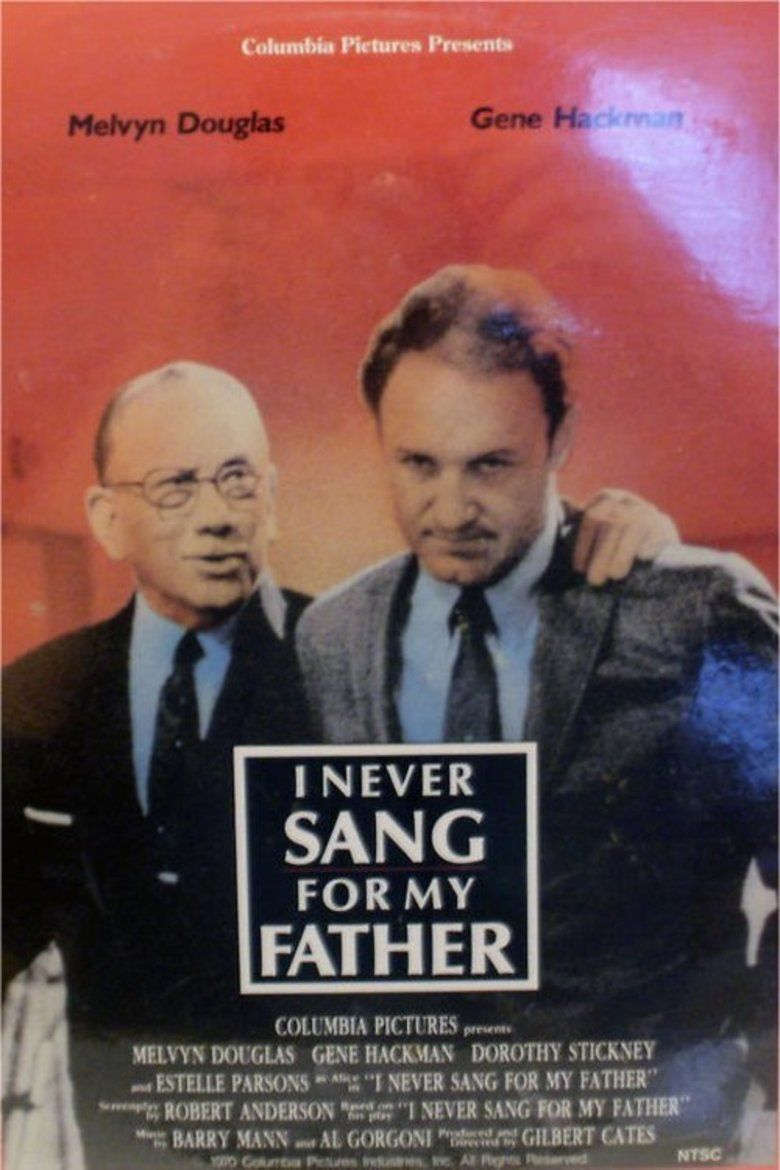 I Never Sang for My Father movie poster