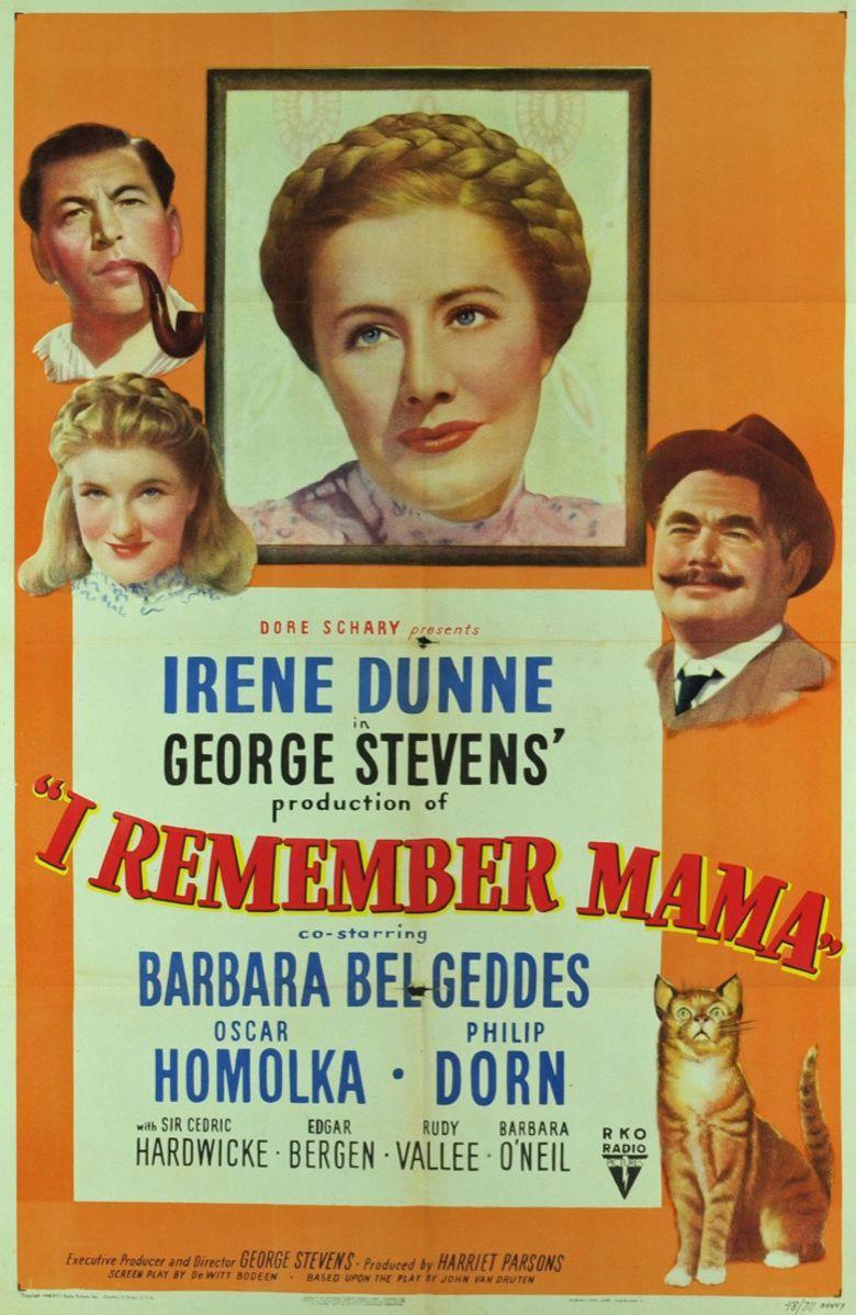 I Remember Mama (film) movie poster
