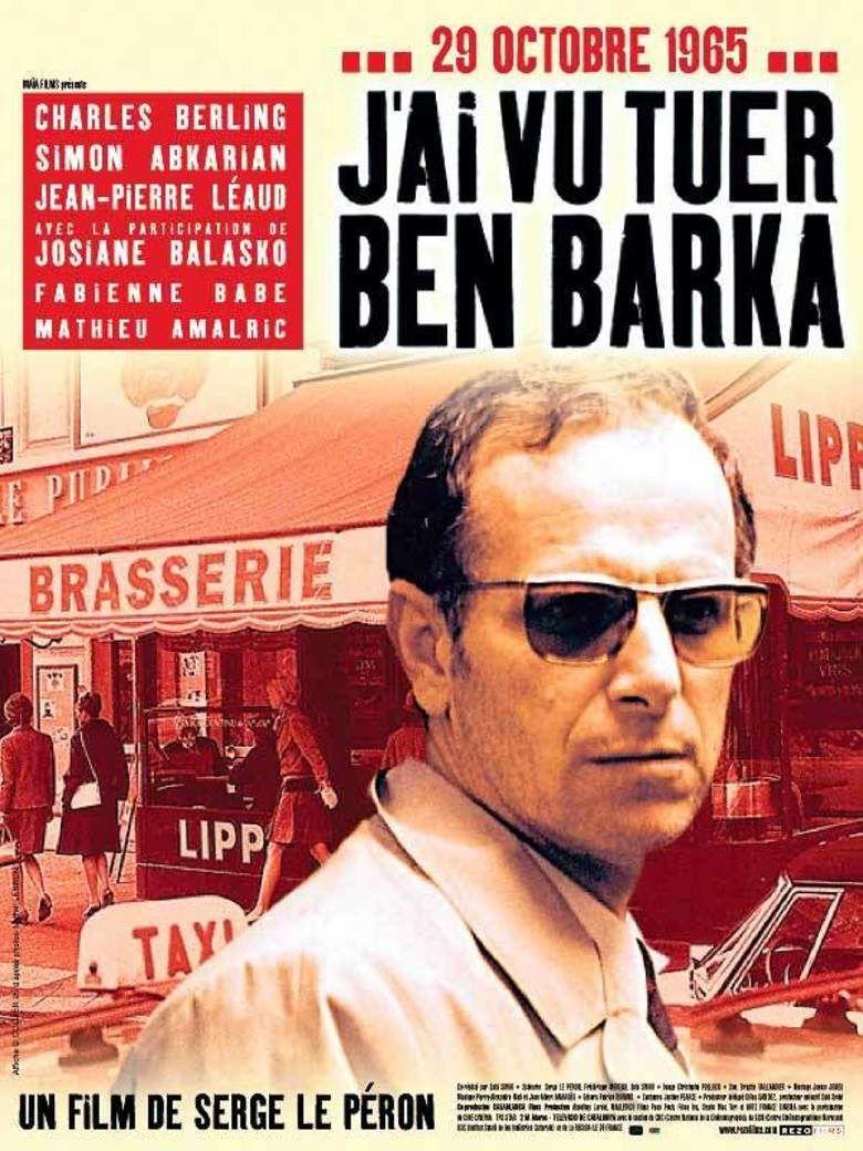 I Saw Ben Barka Get Killed movie poster