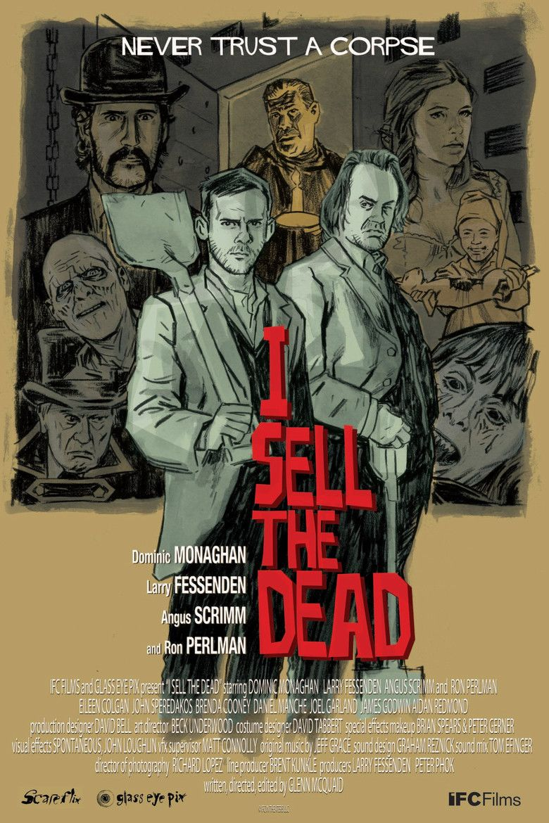 I Sell the Dead movie poster