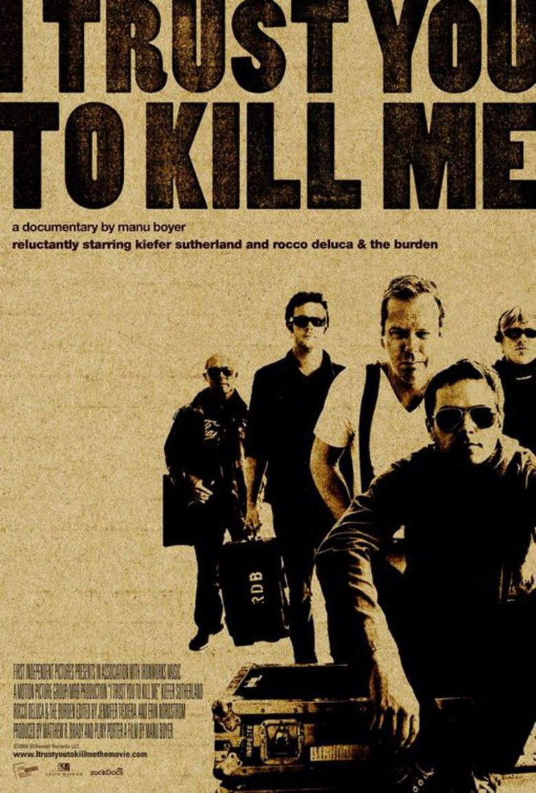 I Trust You to Kill Me (film) movie poster