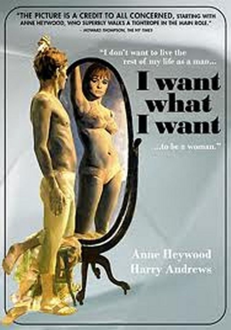 I Want What I Want (film) movie poster