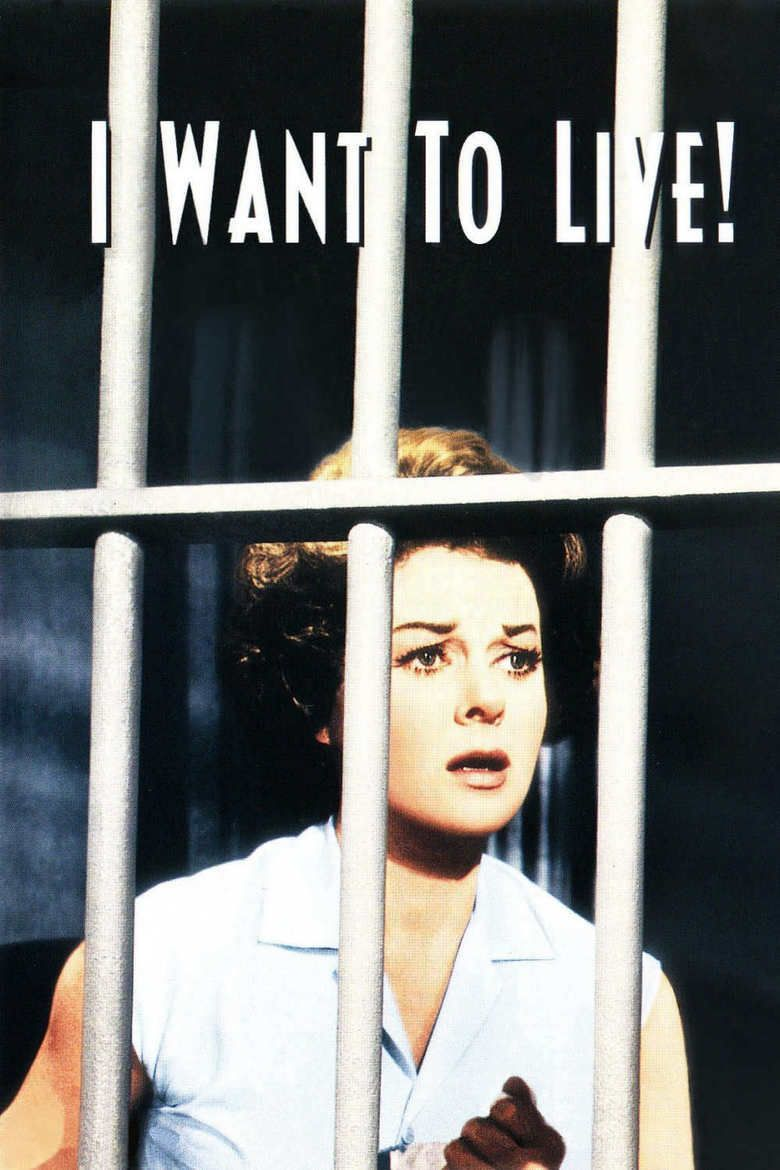 I Want to Live! movie poster