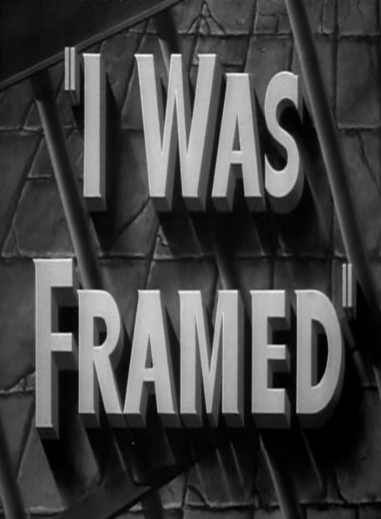 I Was Framed movie poster