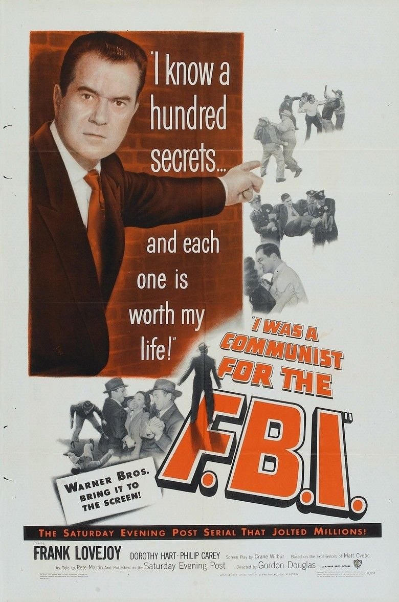 I Was a Communist for the FBI movie poster
