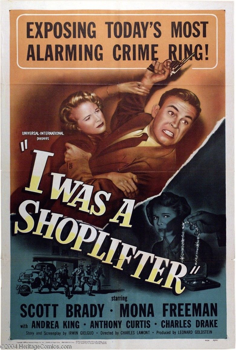 I Was a Shoplifter movie poster