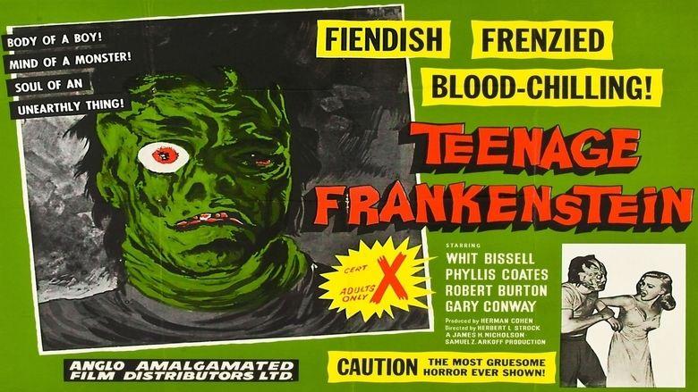 I Was a Teenage Frankenstein movie scenes