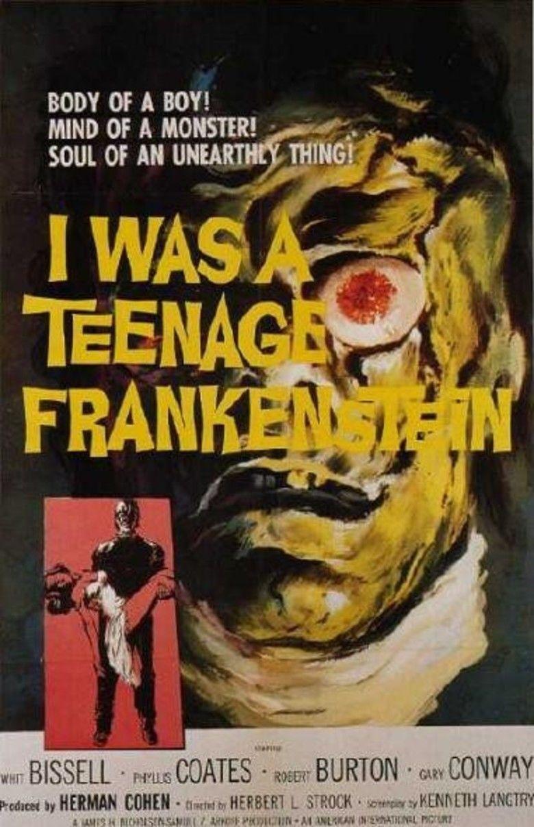 I Was a Teenage Frankenstein movie poster