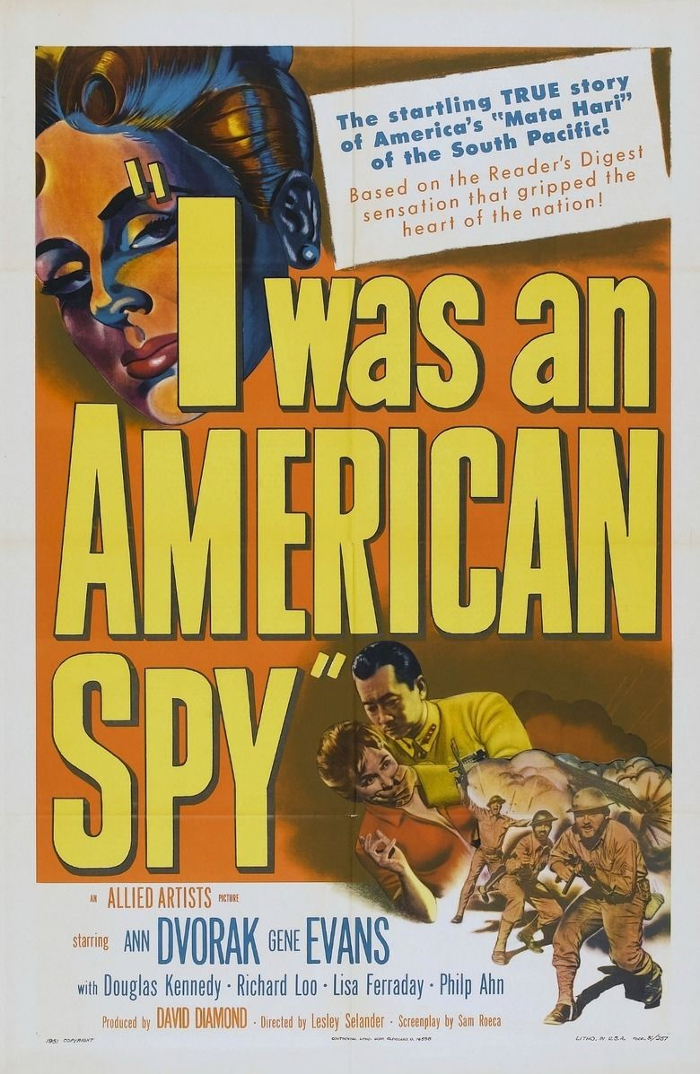I Was an American Spy movie poster