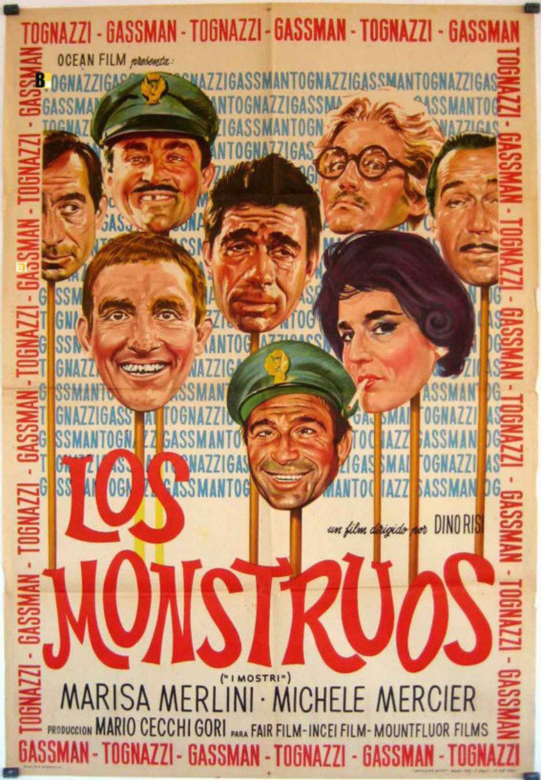 I mostri movie poster