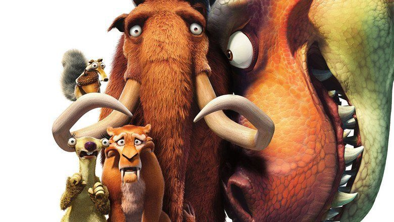 Ice Age: Dawn of the Dinosaurs movie scenes