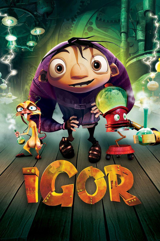 Igor (film) movie poster