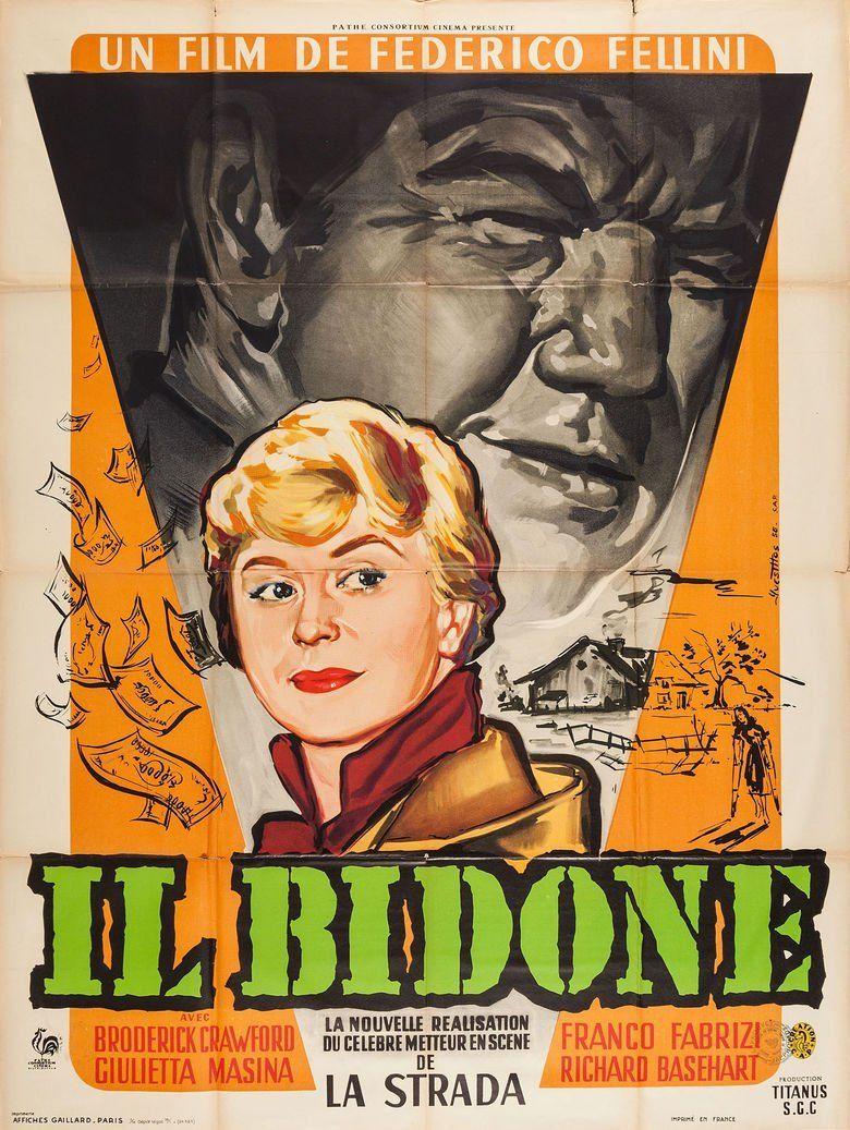 Il bidone movie poster