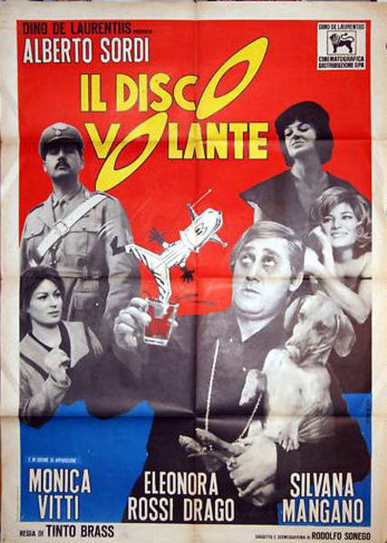 Il disco volante movie poster