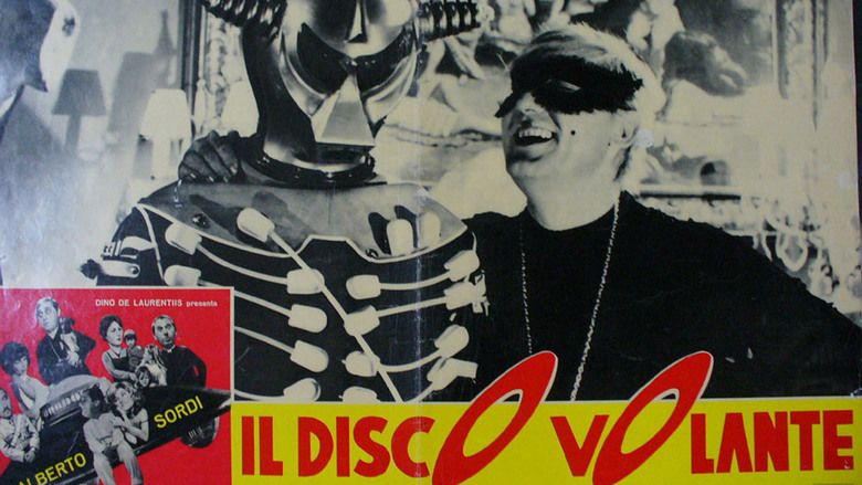 Il disco volante movie scenes