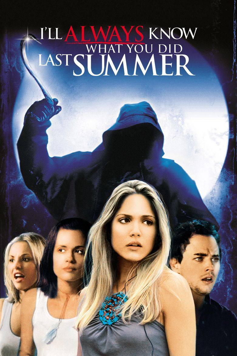 Ill Always Know What You Did Last Summer movie poster