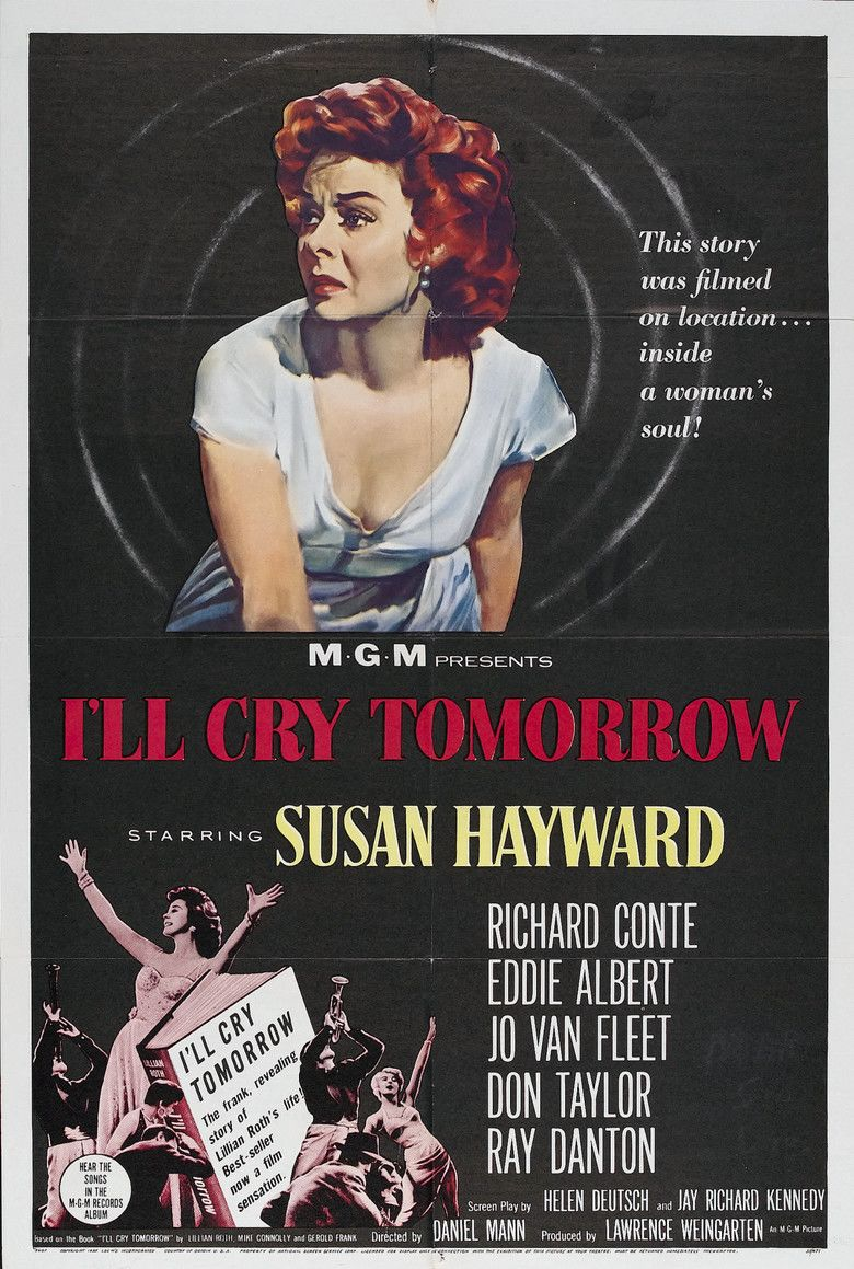 Ill Cry Tomorrow movie poster
