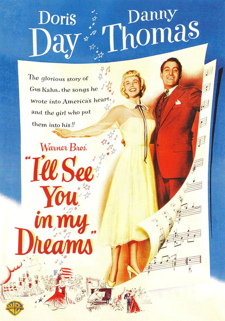 Ill See You in My Dreams (1951 film) movie poster