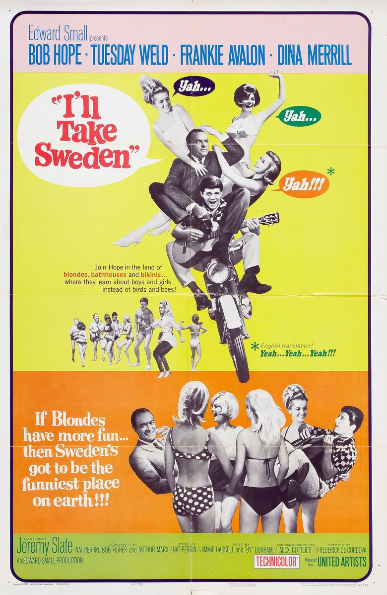 Ill Take Sweden movie poster