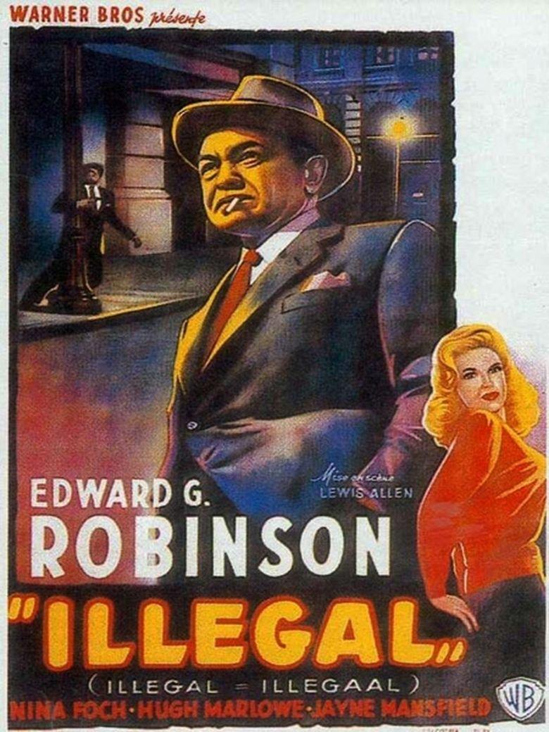 Illegal (1955 film) movie poster