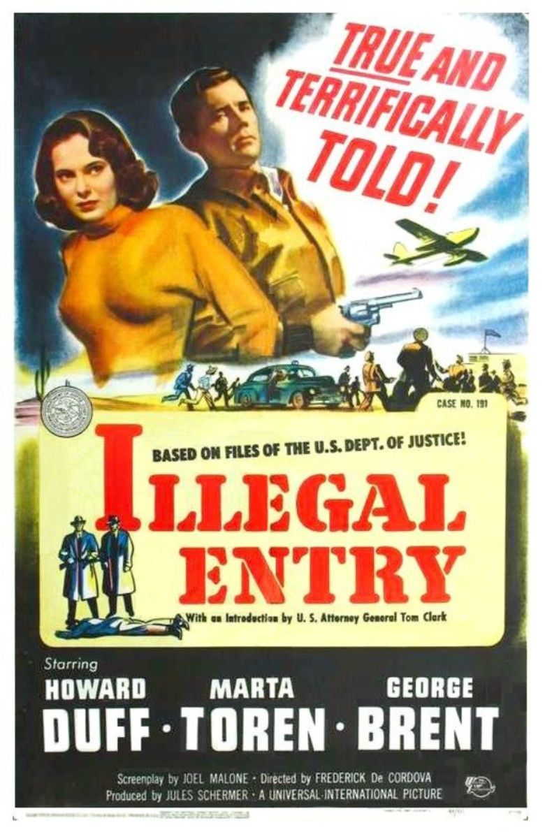 Illegal Entry (film) movie poster