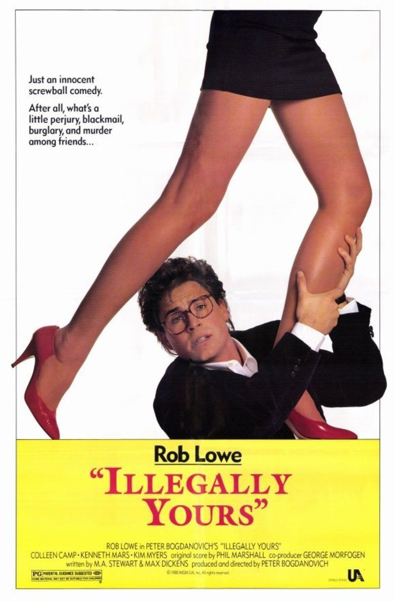 Illegally Yours movie poster