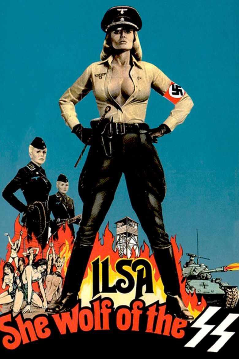 Ilsa, She Wolf of the SS movie poster