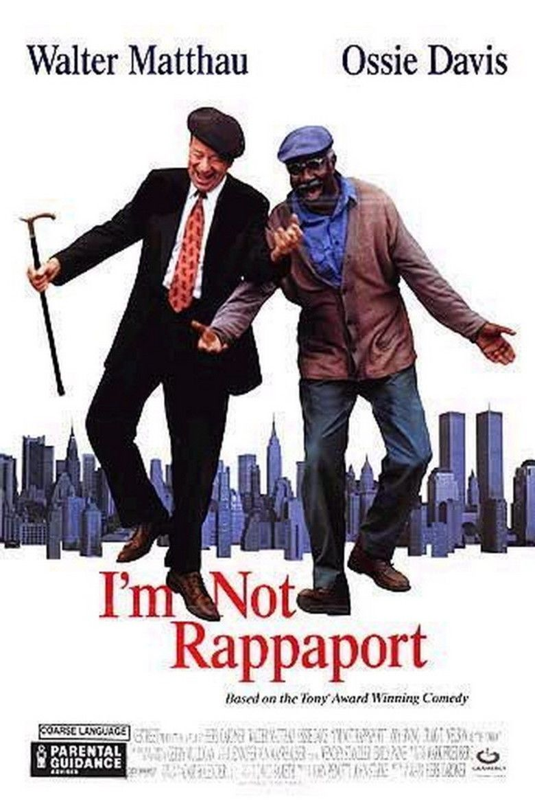 Im Not Rappaport (film) movie poster