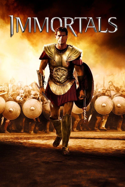 Immortals (2011 film) movie poster
