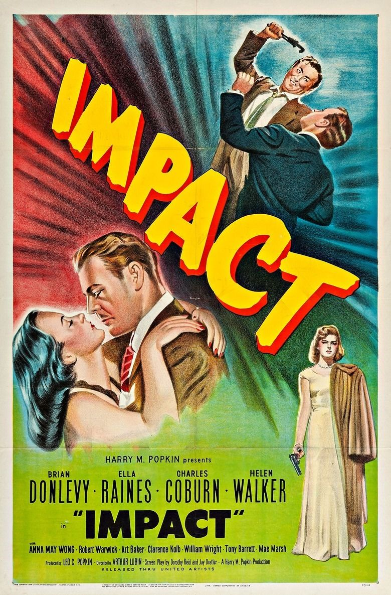 Impact (film) movie poster