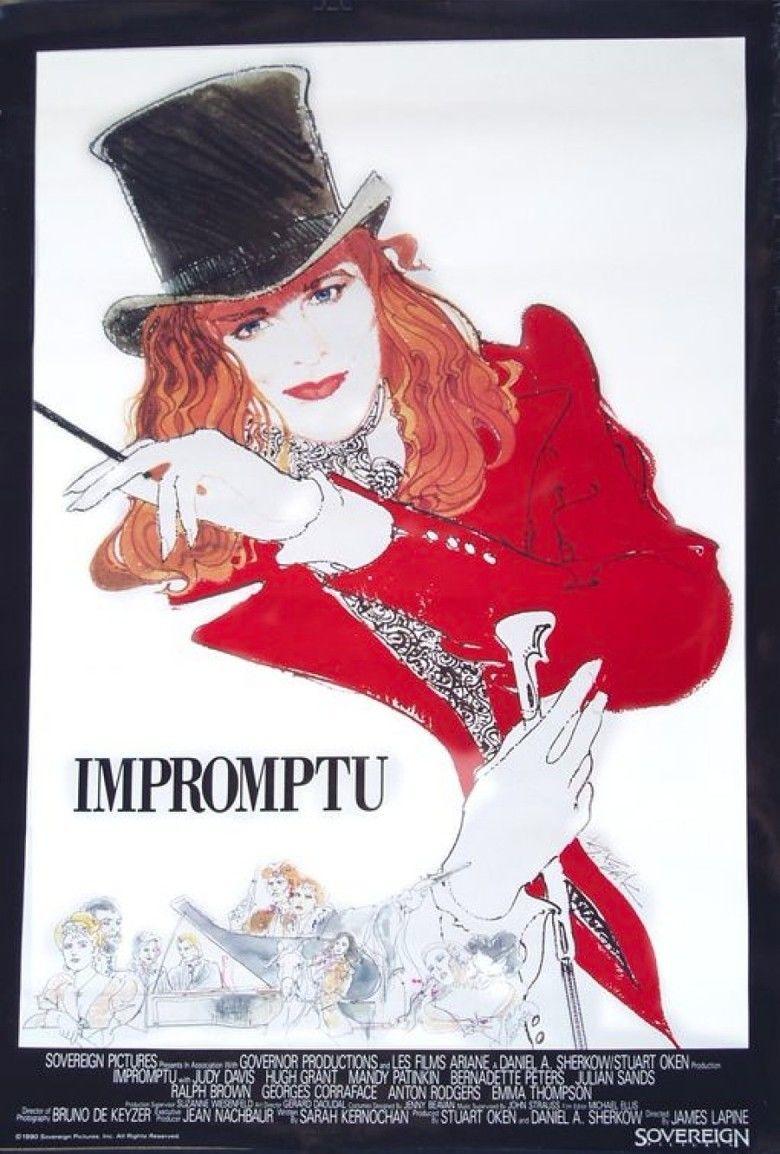 Impromptu (1991 film) movie poster