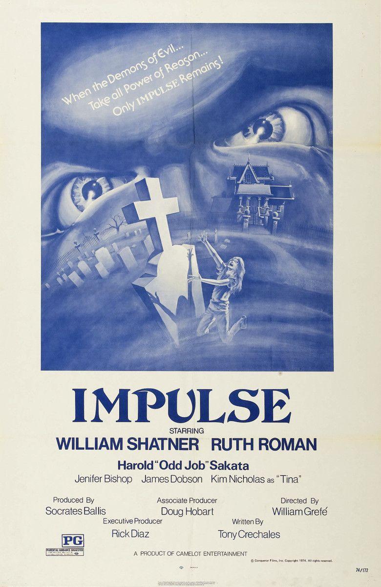 Impulse (1974 film) movie poster