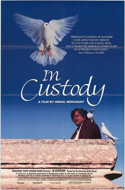 In Custody (1993 film) movie poster