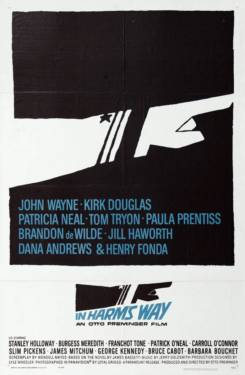 In Harms Way movie poster