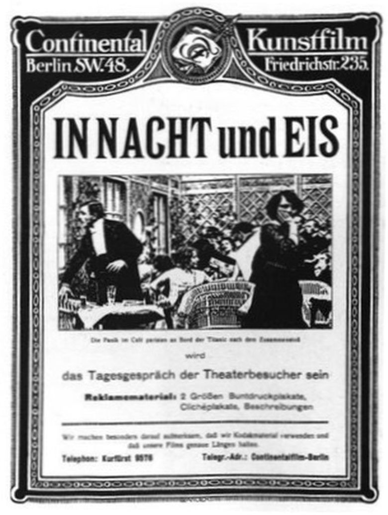 In Nacht und Eis movie poster