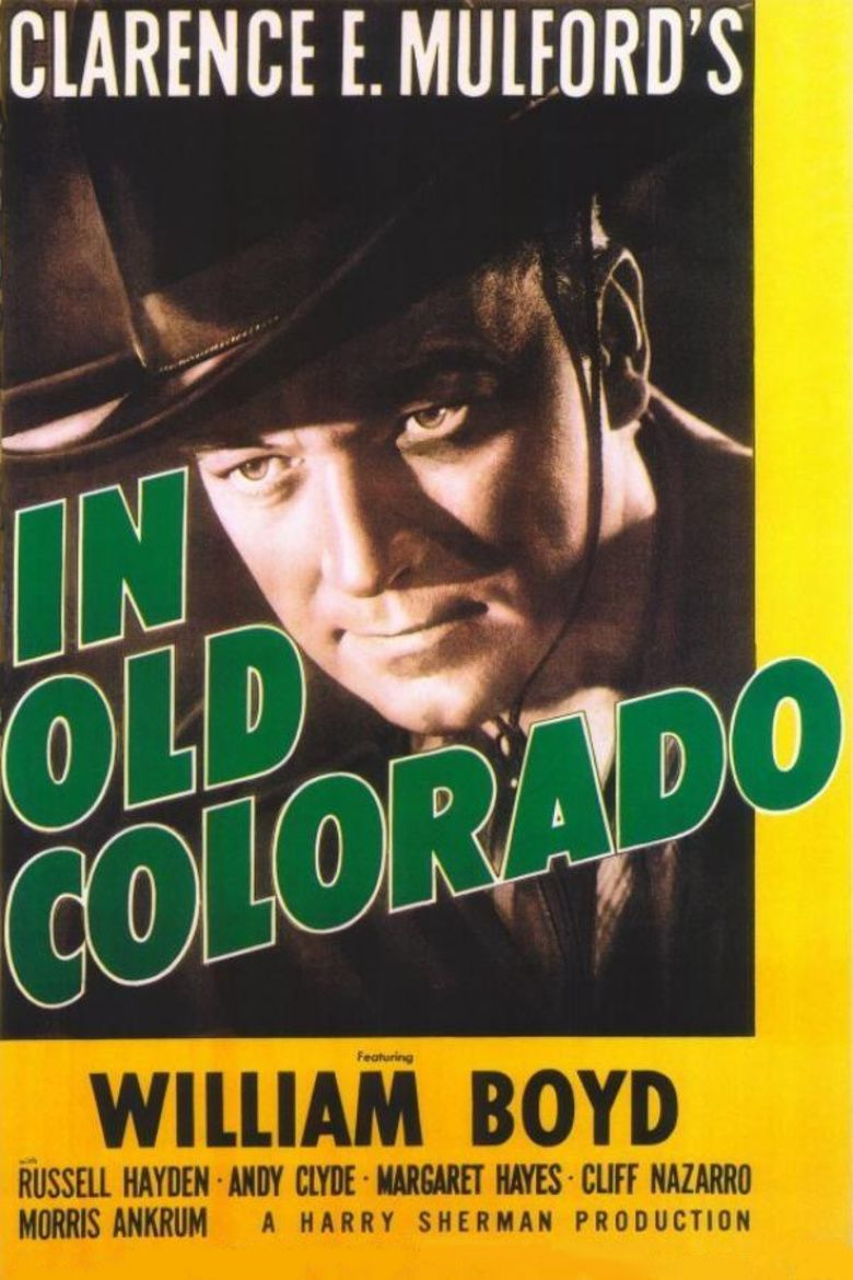 In Old Colorado movie poster