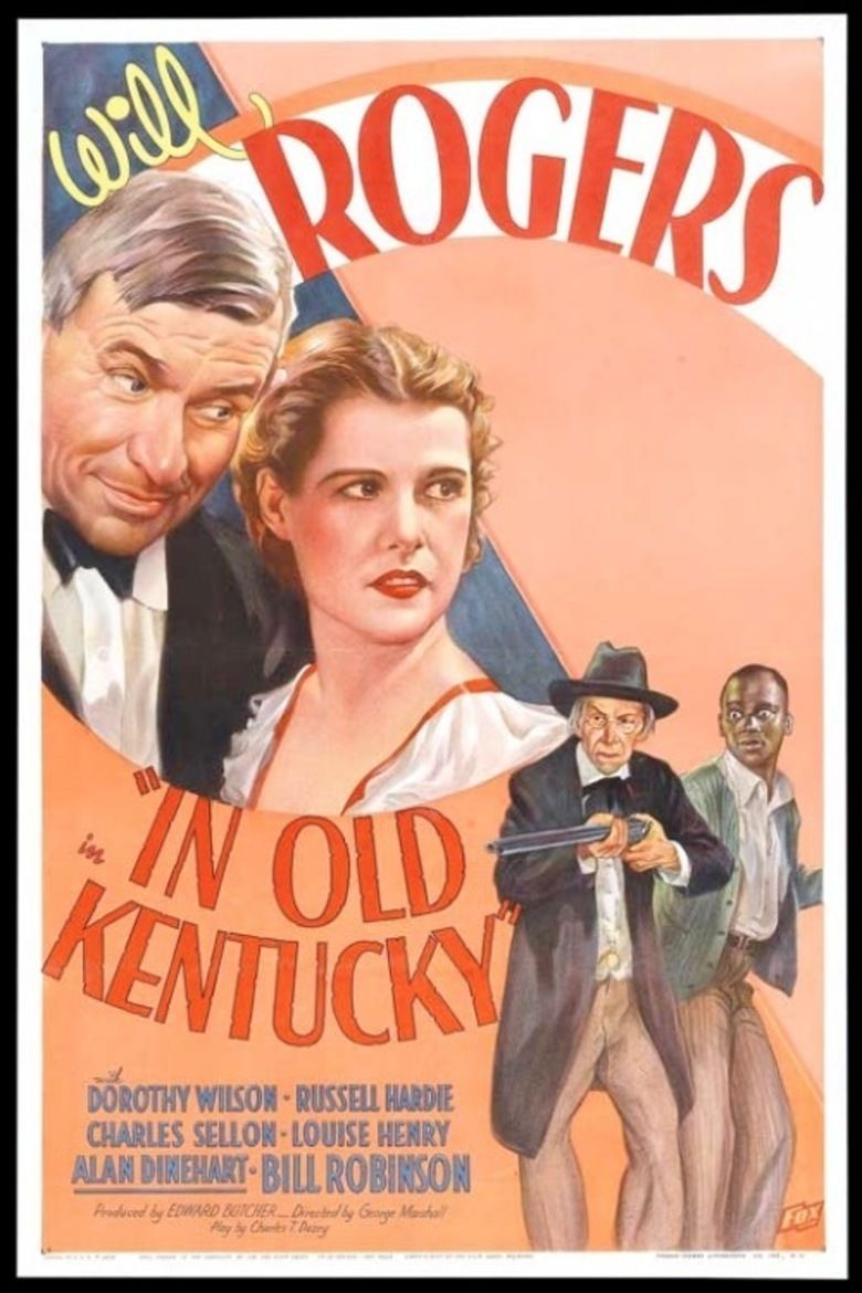 In Old Kentucky (1935 film) movie poster