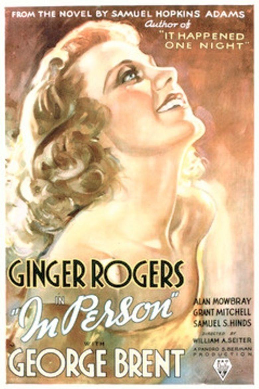 In Person (film) movie poster